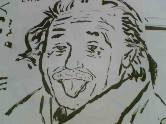 Albert Einstein by arun